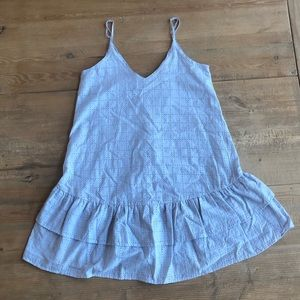 Pale Blue Juniors Dress